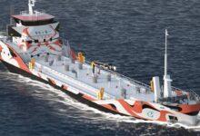 ساخت تانکر های برقی برای سوخت رسانی به کشتی ها ( کشتی های برقی )