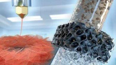 ساخت نمونه آئروژل های گرافن با چابگر سه بعدی برای تصفیه آب