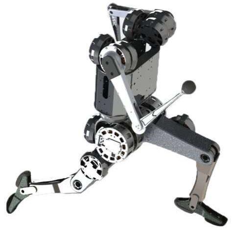 ربات انسان نما MIT می تواند رفتارهای آکروباتیک را انجام دهد الگوریتم های کنترل حرکت